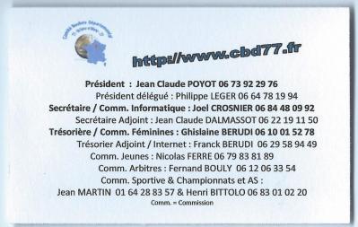Carte visite CBD77