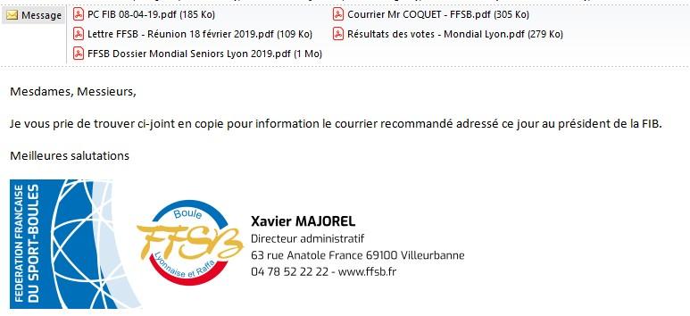 Courrier ffsb fib 2