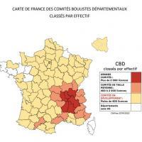 Carte de France ASB